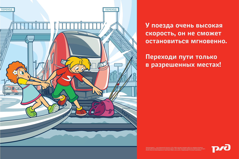Правила безопасности в поезде для детей в картинках